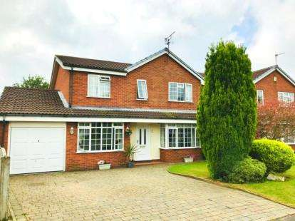5 Bedrooms Detached House for sale in Suffolk Close, Woolston, Warrington, Cheshire