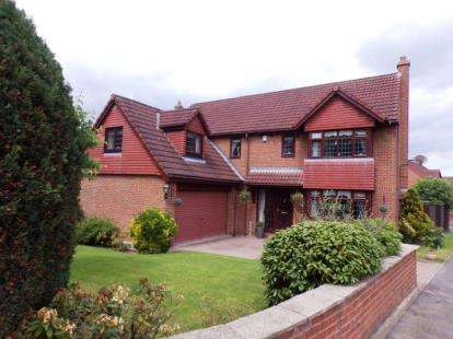 5 Bedrooms Detached House for sale in Oxhill Farm, High Lane, Maltby