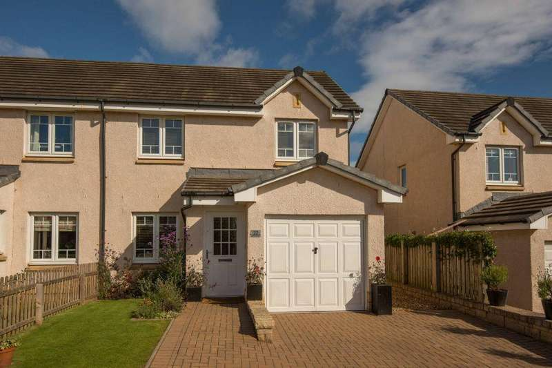 3 Bedrooms Semi Detached House for sale in 22 Moray Avenue, Dunbar, East Lothian, EH42 1QG