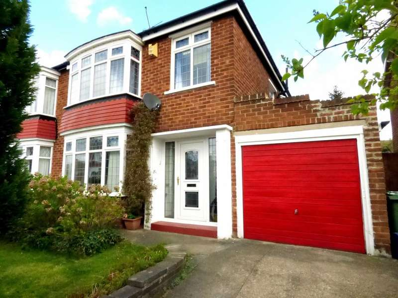 3 Bedrooms Semi Detached House for sale in Palm Grove, Fairfield, Stockton On Tees, TS19