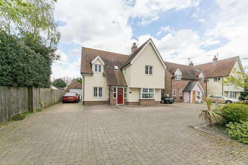 4 Bedrooms Link Detached House for sale in Goodwyns Mews, Great Bentley, Colchester, Essex