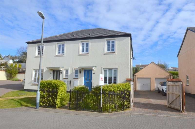 3 Bedrooms Semi Detached House for sale in Wheal Sperries Way, Truro
