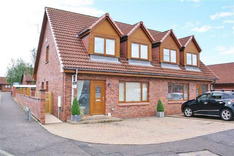 3 Bedrooms Semi Detached House for sale in Laurel Grove, Bonnybridge, Stirlingshire