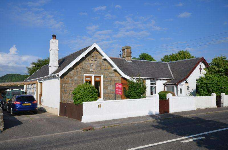 3 Bedrooms Semi Detached Bungalow for sale in 3 Collenan Cottage, by Loans, Troon KA10 7HS