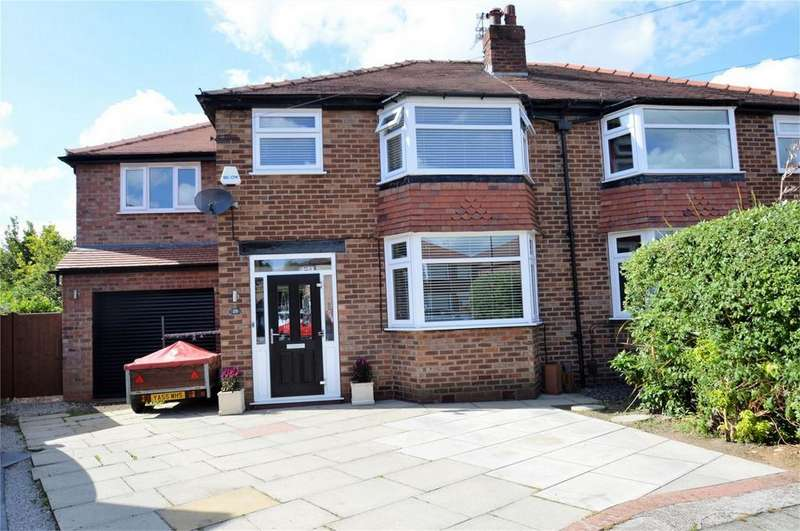 4 Bedrooms Semi Detached House for sale in Lowton Road, SALE, Cheshire