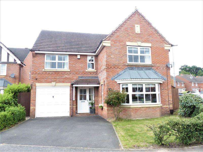 4 Bedrooms Detached House for sale in Warren House Walk, Sutton Coldfield