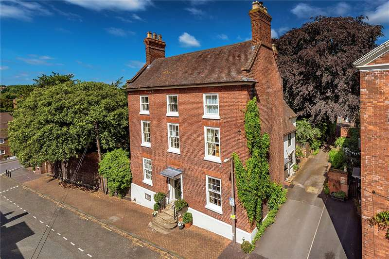 5 Bedrooms Detached House for sale in The Hollies, 30 St Mary's Street, Bridgnorth, Shropshire, WV16