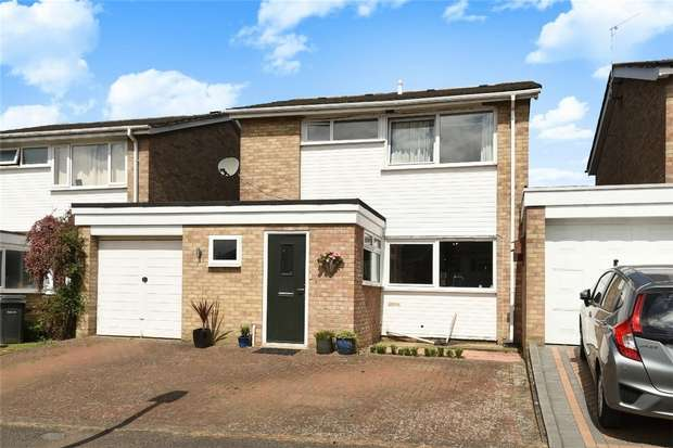 4 Bedrooms Detached House for sale in Dewlands, Oakley, Bedford