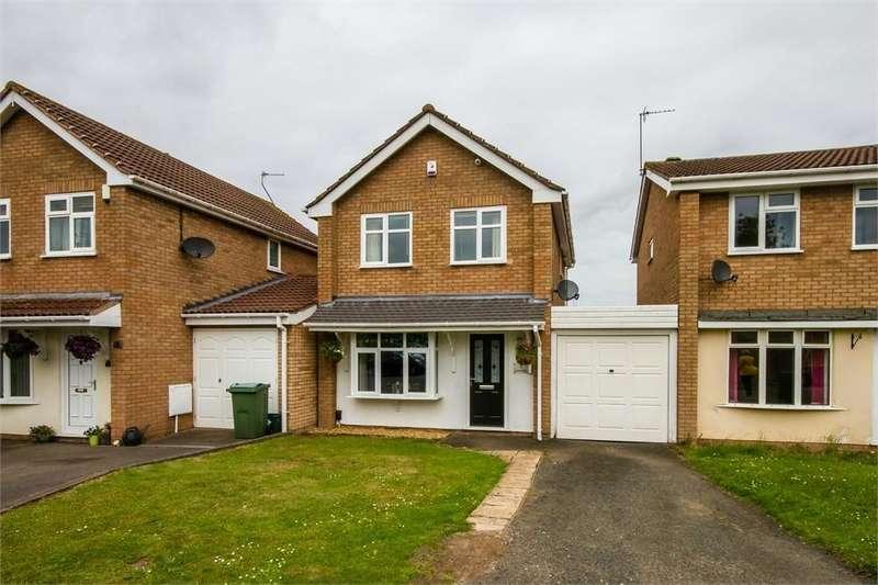 3 Bedrooms Detached House for sale in Lesscroft Close, Pendeford, Wolverhampton, West Midlands