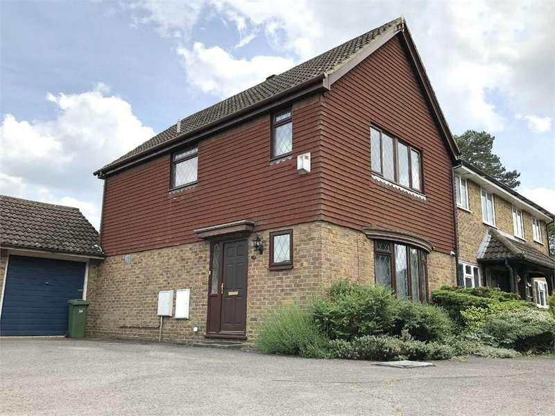 3 Bedrooms End Of Terrace House for sale in Evesham Walk, Owlsmoor, SANDHURST, Berkshire
