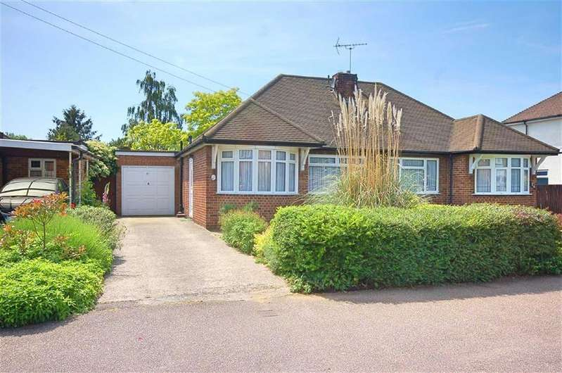 2 Bedrooms Semi Detached Bungalow for sale in Heathfield Road, Hitchin, Hertfordshire