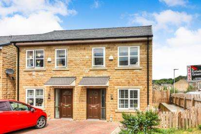 4 Bedrooms Semi Detached House for sale in Higher Mill Street, Rawtenstall, Rosssendale, Lancashire, BB4