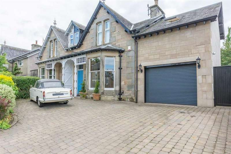 6 Bedrooms Semi Detached House for sale in Muirhall Terrace, Perth, Perthshire
