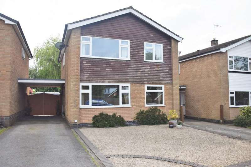 4 Bedrooms Detached House for sale in Willesley Gardens, Ashby De La Zouch, LE65