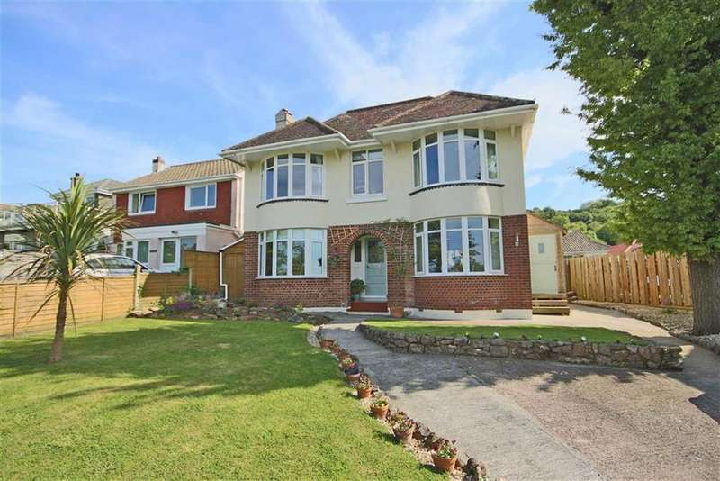 4 Bedrooms Detached House for sale in Upton Manor Road, St Mary's, Brixham, TQ5