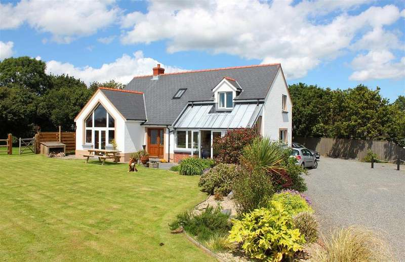 4 Bedrooms Detached House for sale in Burton, Milford Haven