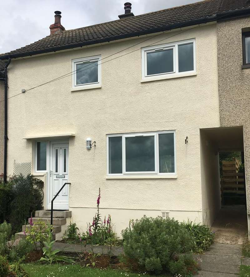 3 Bedrooms Terraced House for sale in 2 Linns View, Harelaw, Canonbie DG14