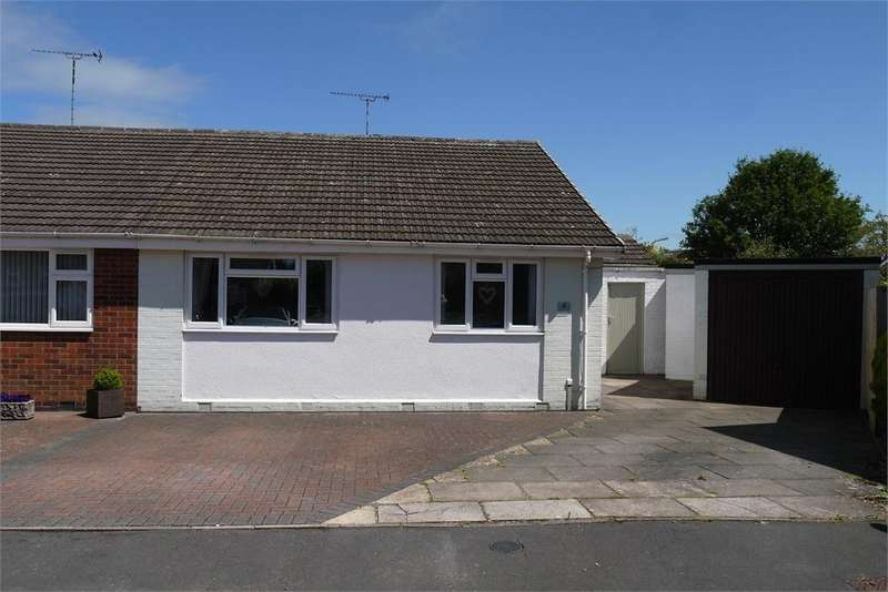 2 Bedrooms Semi Detached Bungalow for sale in Willow Tree Crescent, Lutterworth, Leicestershire