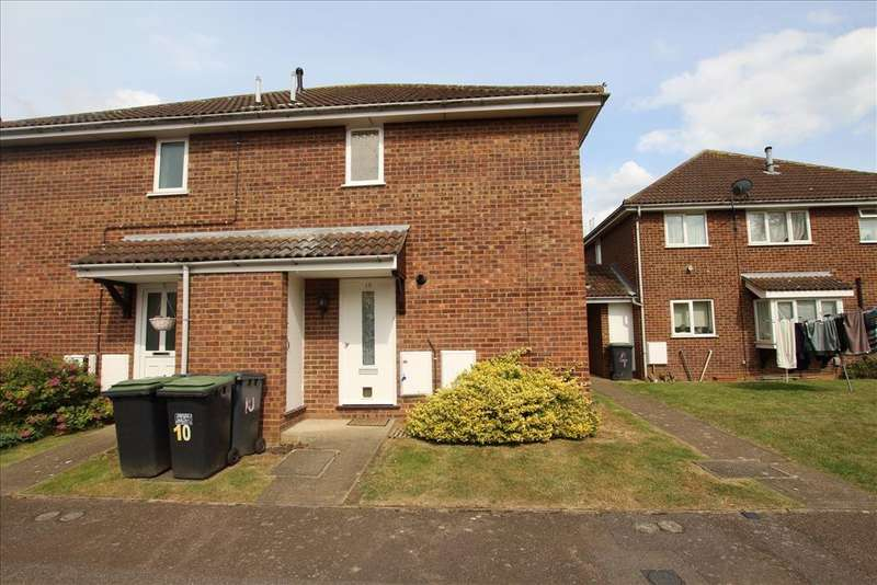 2 Bedrooms Cluster House for sale in Avocet Close, Biggleswade, SG18