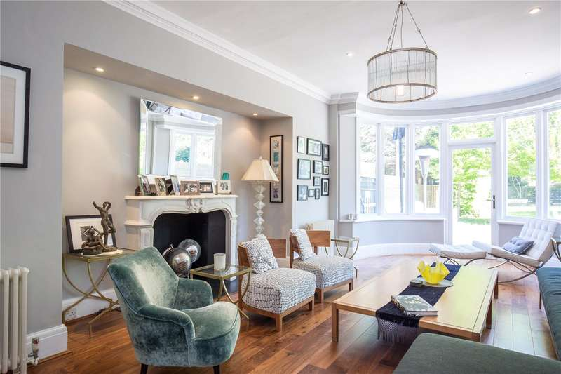 5 Bedrooms Link Detached House for sale in Beech Drive, East Finchley, London, N2