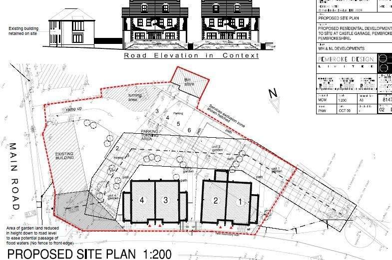 Land Commercial for sale in Former Castle Garage, Monkton Bridge, Pembroke, Pembrokeshire