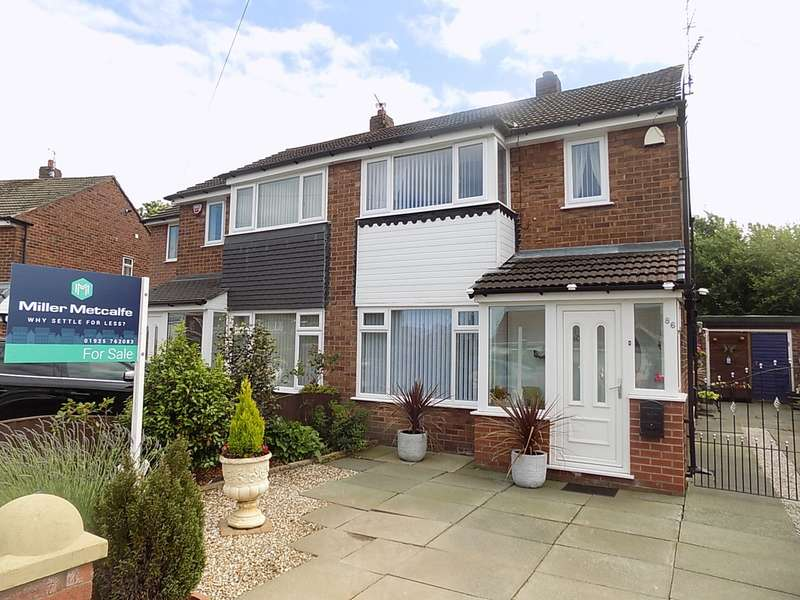 3 Bedrooms Semi Detached House for sale in Severn Road, Culcheth, Warrington, WA3
