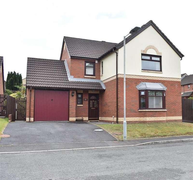 4 Bedrooms Detached House for sale in FFordd Scott, The Fairways, Birchgrove, Swansea