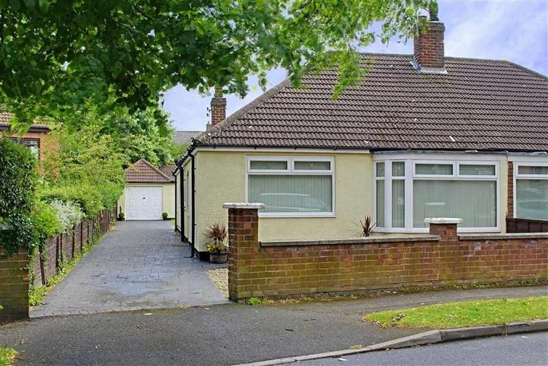 2 Bedrooms Semi Detached Bungalow for sale in Connaught Road, Nunthorpe