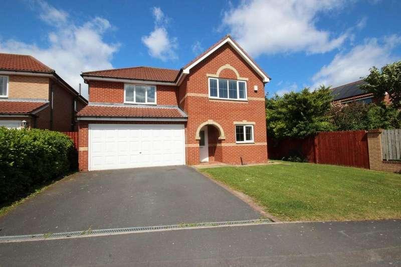 5 Bedrooms Detached House for sale in Clover Drive, Eden Park, Hartlepool