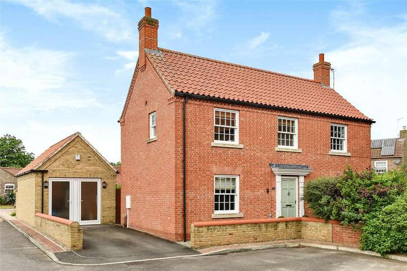 3 Bedrooms Detached House for sale in Tiggers Orchard, Wragby, LN8