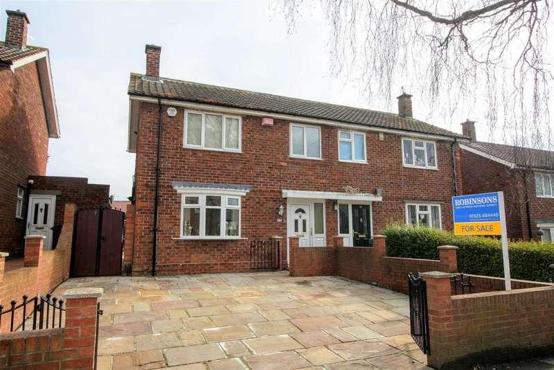 3 Bedrooms Semi Detached House for sale in Morpeth Avenue, Darlington
