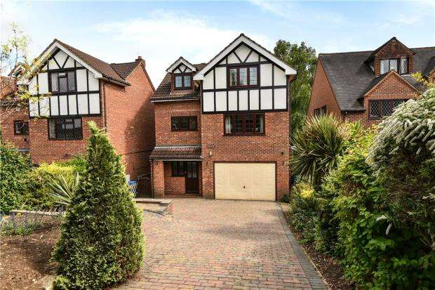 4 Bedrooms Detached House for sale in Bracken Road, Maidenhead, Berkshire