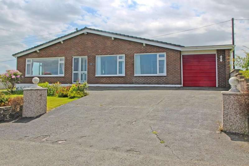 4 Bedrooms Detached Bungalow for sale in Coedana, Llanerchymedd, North Wales