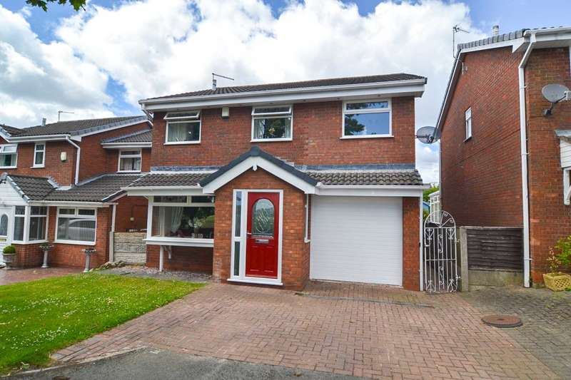 4 Bedrooms Detached House for sale in Tyrer Road, Newton Le Willows