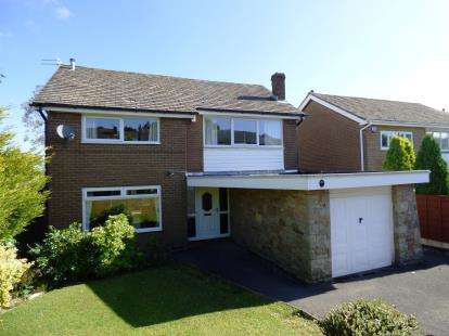4 Bedrooms Detached House for sale in Sheard Hall Avenue, Disley, Stockport, Cheshire