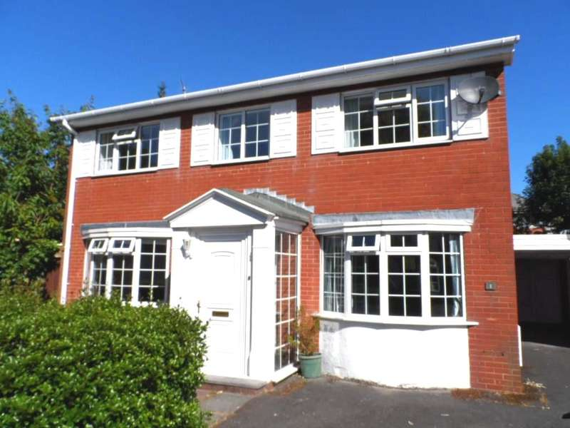 4 Bedrooms Detached House for sale in Cottesmore Place, Blackpool, FY3 8SB