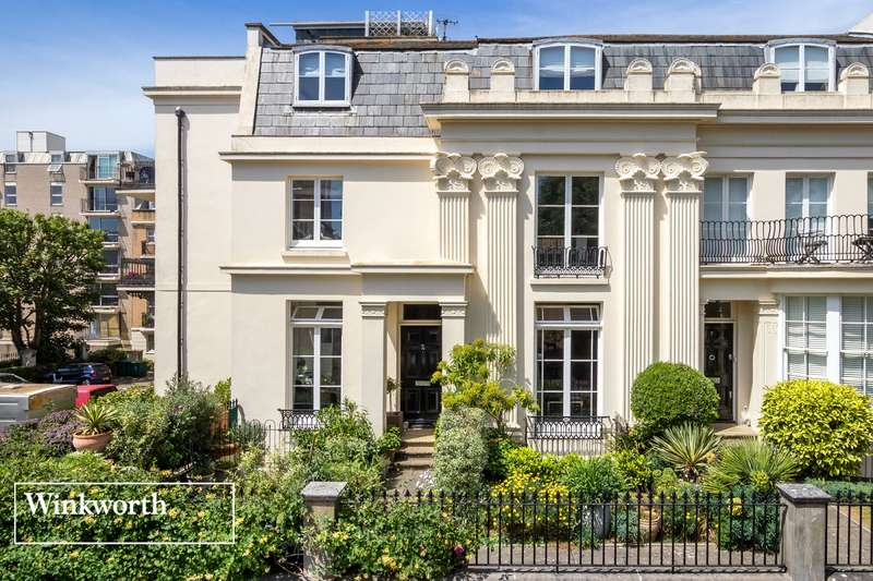 3 Bedrooms End Of Terrace House for sale in Western Terrace, Brighton, East Sussex, BN1