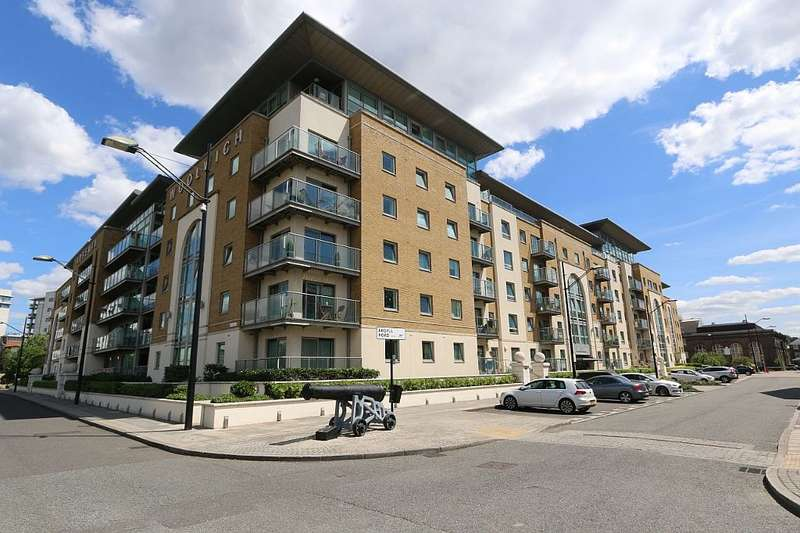 2 Bedrooms Apartment Flat for sale in Building 50, Argyll Road, London, London, SE18 6PG