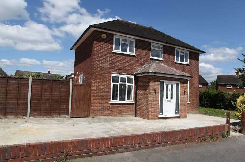 4 Bedrooms Detached House for sale in Fox Road, Langley, Slough SL3