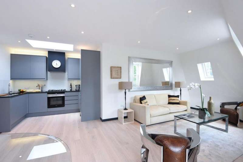 2 Bedrooms Flat for sale in Southville, Larkhall Park