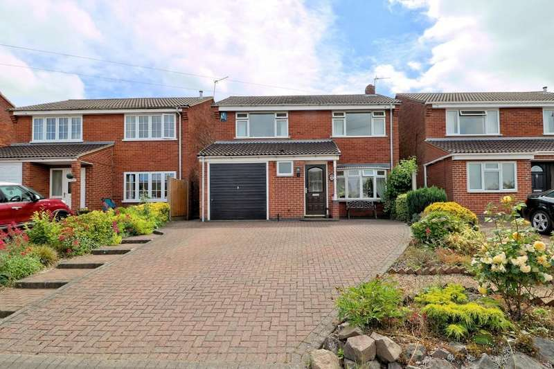 4 Bedrooms Detached House for sale in Windsor Road, Ashby-de-la-Zouch