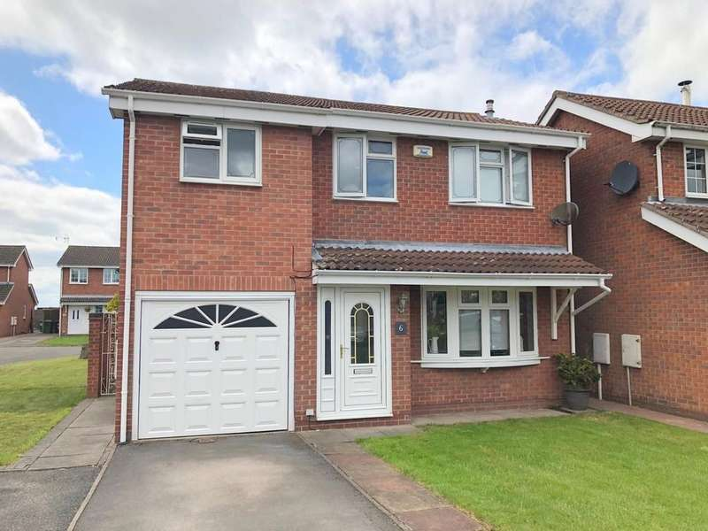 4 Bedrooms Detached House for sale in Nightingale Close, Ripley