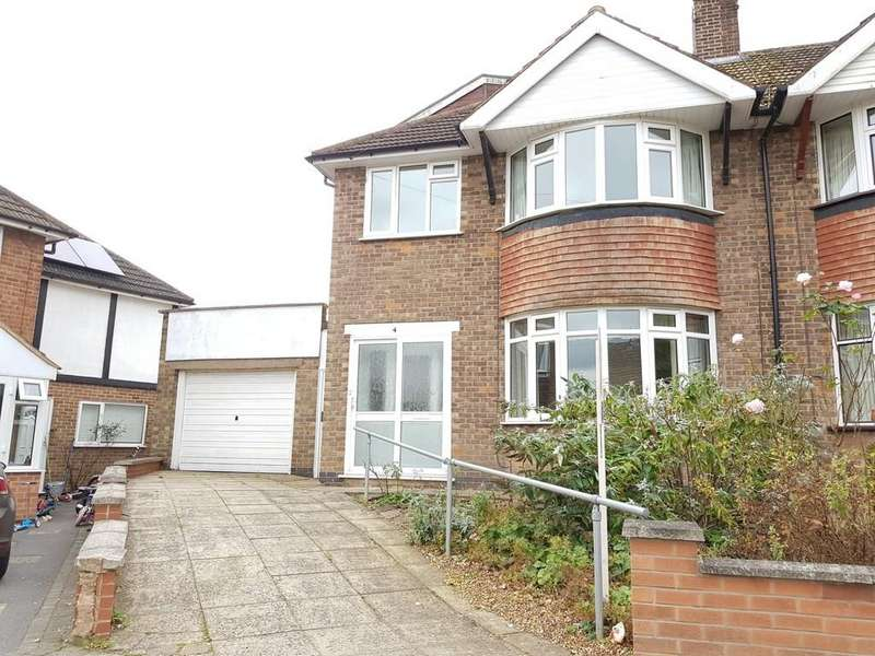 4 Bedrooms Semi Detached House for sale in Durston Close, Evington, Leicester, LE5