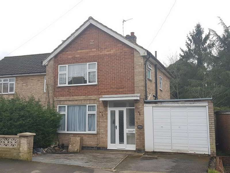 3 Bedrooms Semi Detached House for sale in Waldron Drive, Oadby, Leicester, LE2