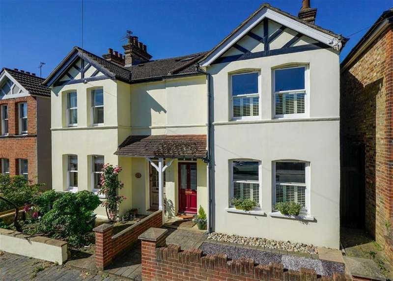4 Bedrooms Semi Detached House for sale in Ramsbury Road, St Albans, Hertfordshire