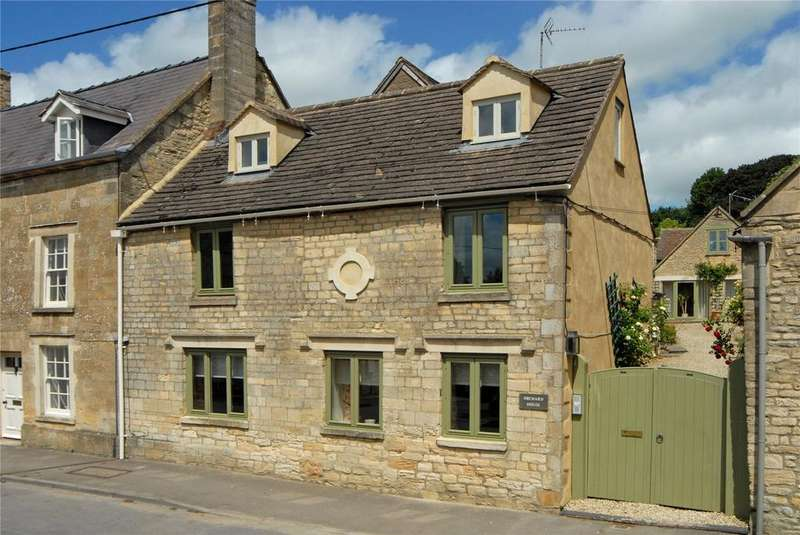 5 Bedrooms Semi Detached House for sale in High Street, Northleach, Cheltenham, Gloucestershire, GL54