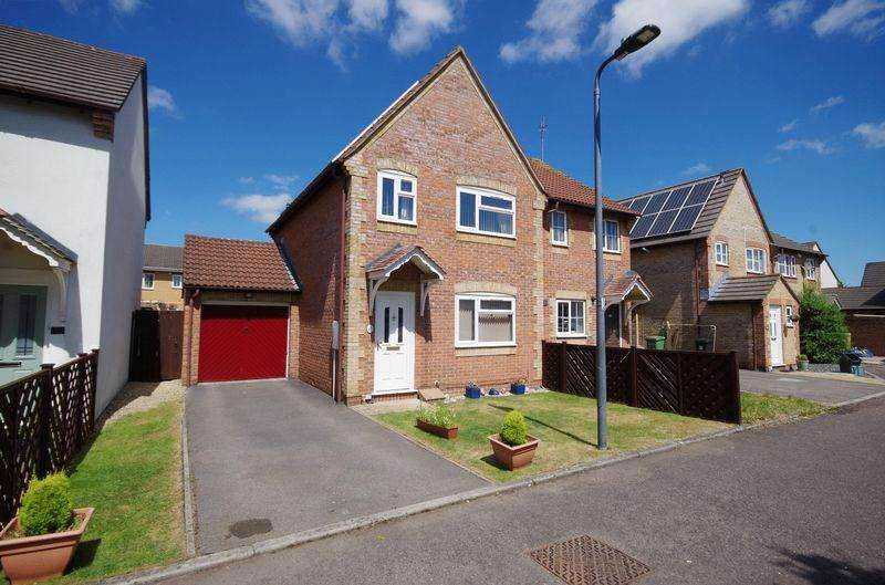 3 Bedrooms Semi Detached House for sale in The Bluebells, Bradley Stoke, Bristol