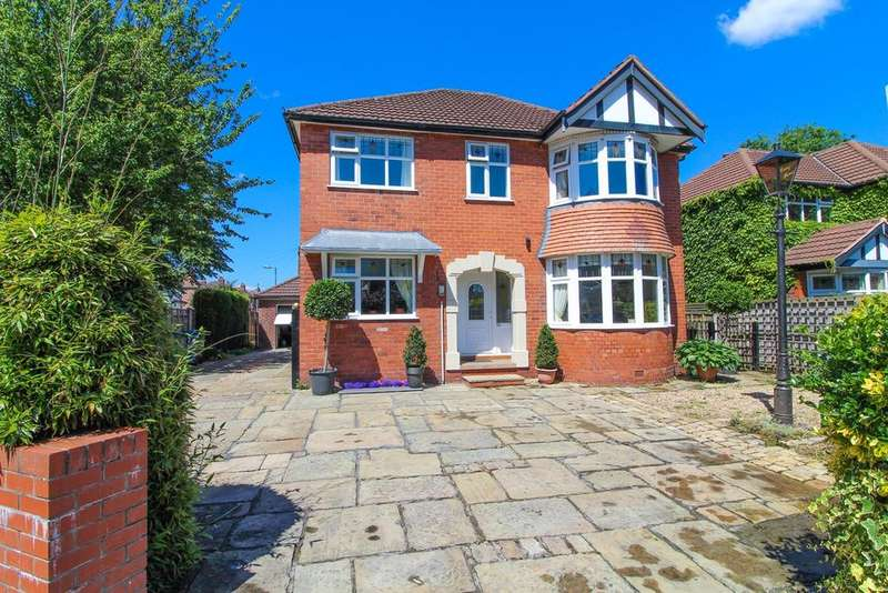 5 Bedrooms Detached House for sale in Chester Road, Hazel Grove, Stockport, SK7