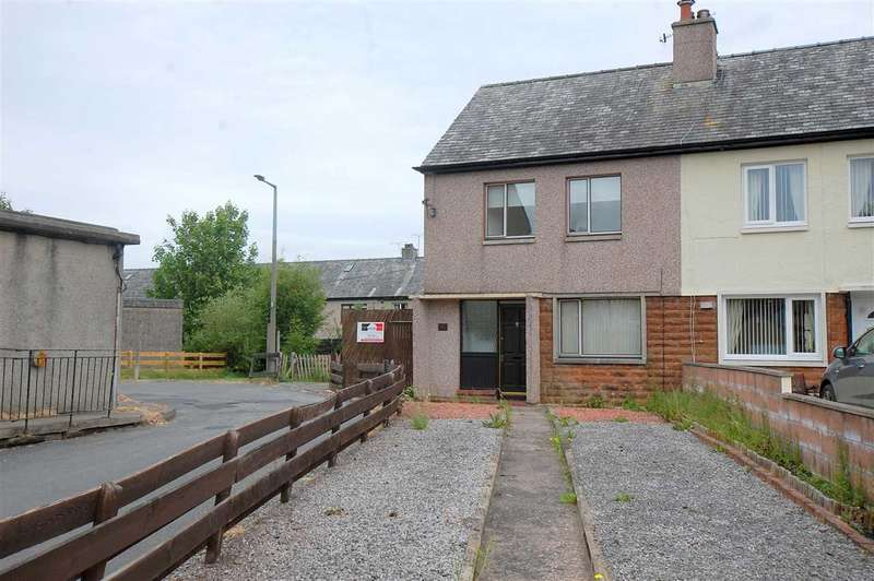 2 Bedrooms End Of Terrace House for sale in Lincluden Road, Dumfries