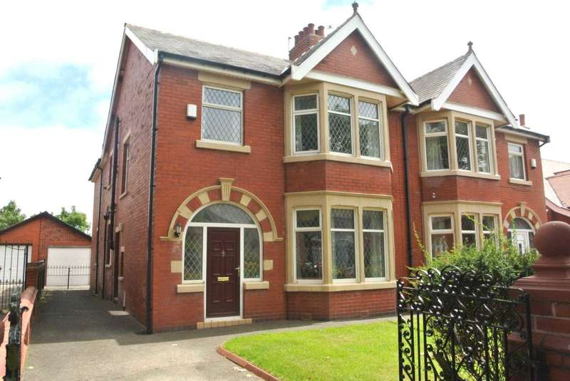 4 Bedrooms Semi Detached House for sale in Stonyhill Avenue, Blackpool, FY4 1PR